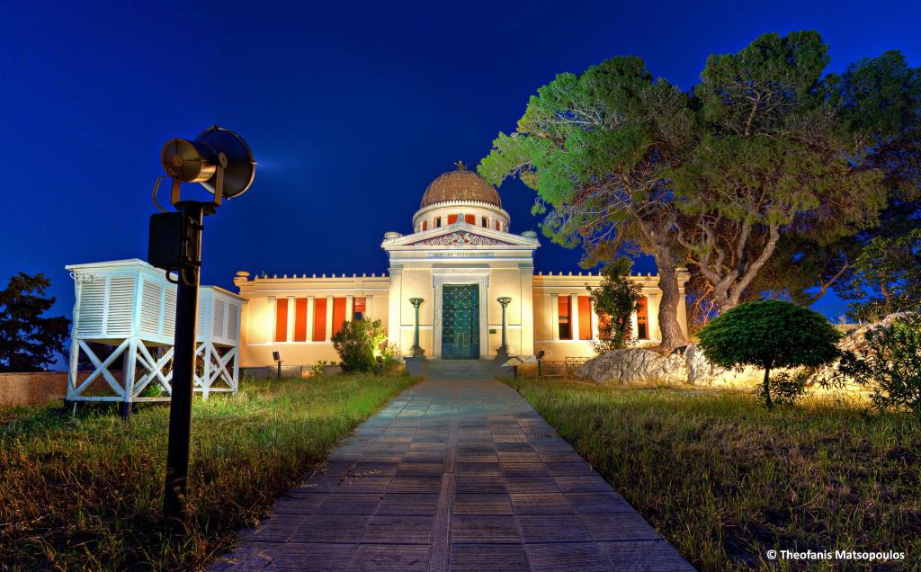 Das Nationale Observatorium Athen, Sina-Gebäude, ©Foto: Nationales Observatorium Athen