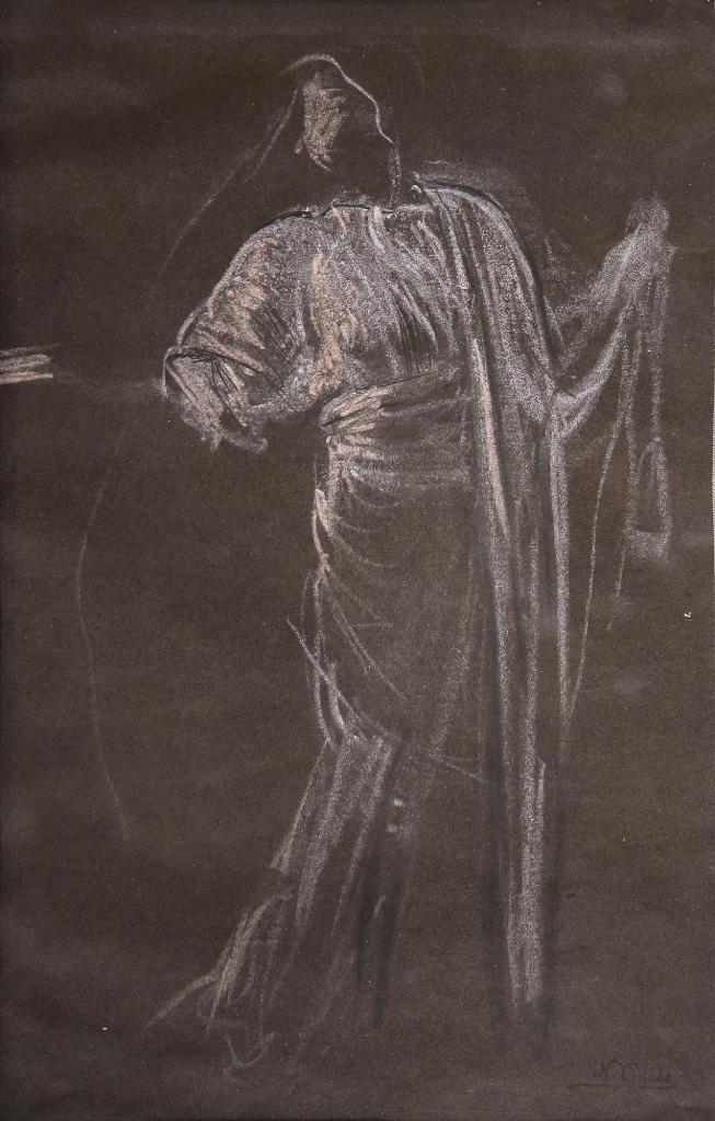 """Nikolaos Gysis, Entwurf der """"Wissenschaft"""" aus dem """"Triumph der Bavaria"""", 1895-1899,"""